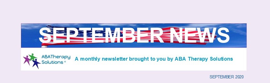 ABA Therapy Solutions' September Newsletter