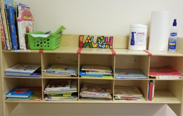 Occupational Therapy Services Book Shelf