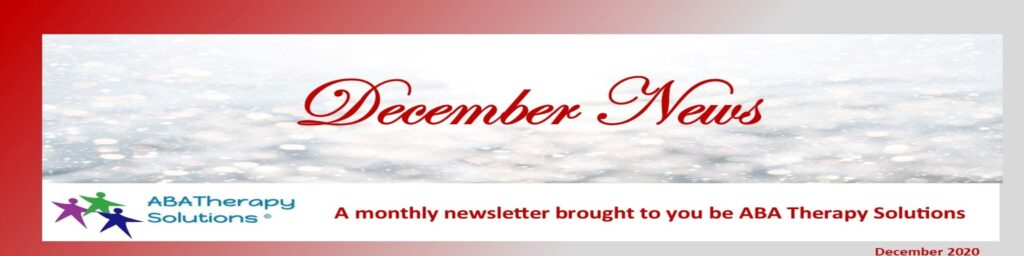 ABA Therapy Solutions' December Newsletter