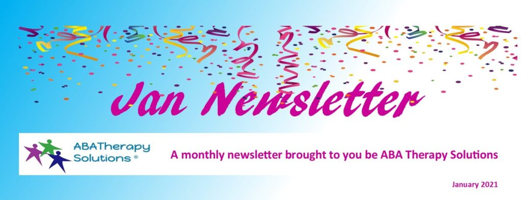 ABA Therapy Solutions' January Newsletter
