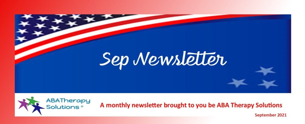 ABA Therapy Solutions September Newsletter