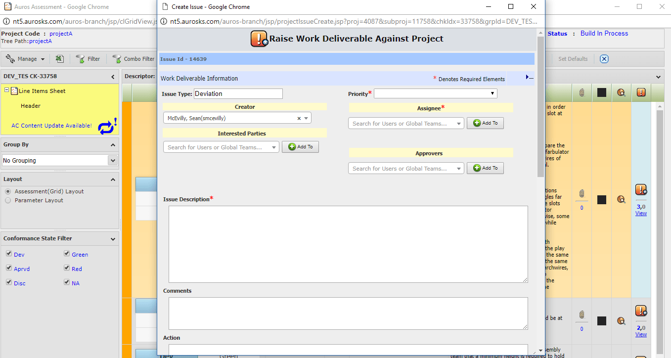 Deviation Management Auros -1