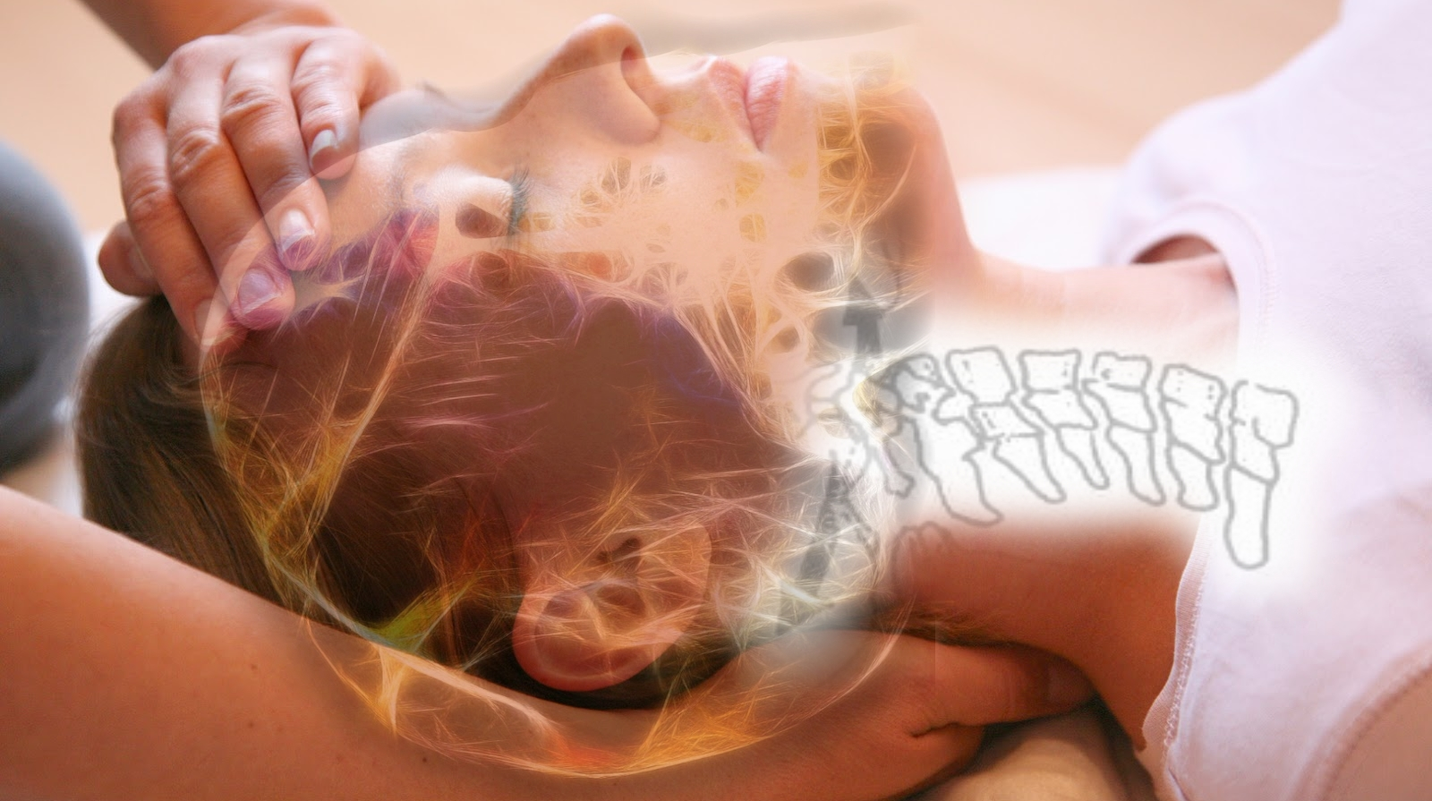 Woman getting craniosacral therapy in Naples, FL