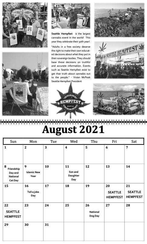 freedom grow forever calendar august 2021