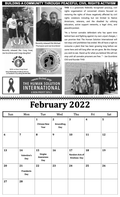 freedom grow forever calendar february 2022
