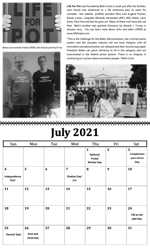 freedom grow forever calendar july 2021