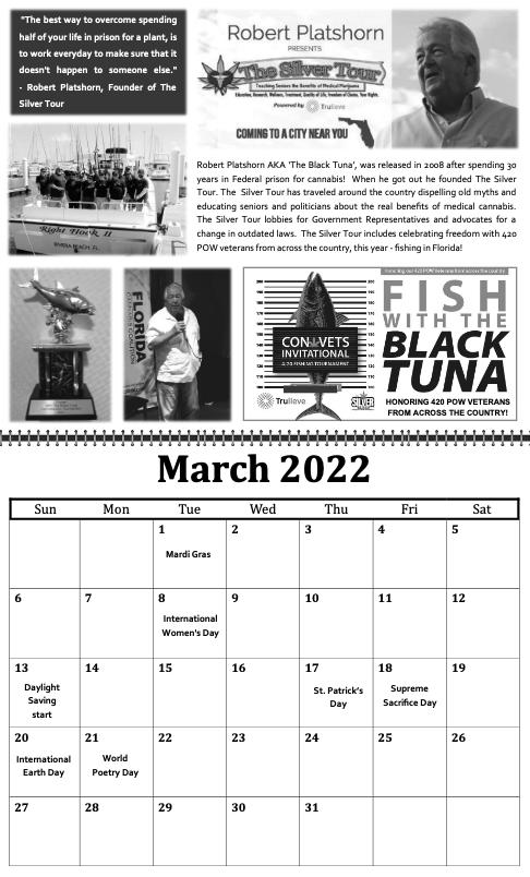 freedom grow forever calendar march 2022