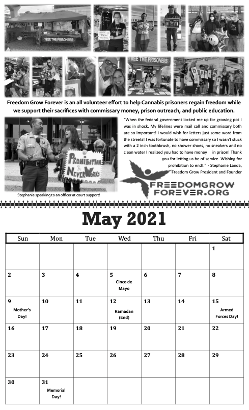 freedom grow forever calendar may 2021