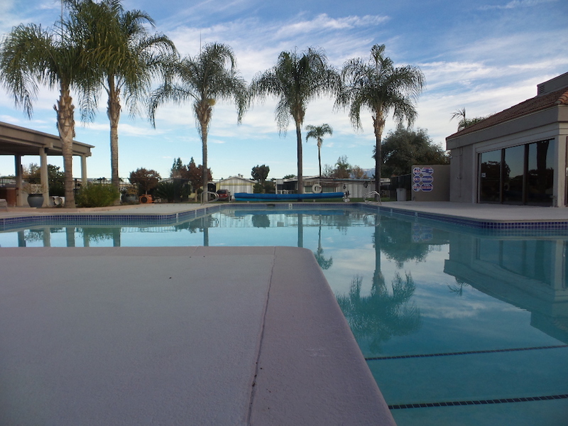 Swimming Pool (evening)