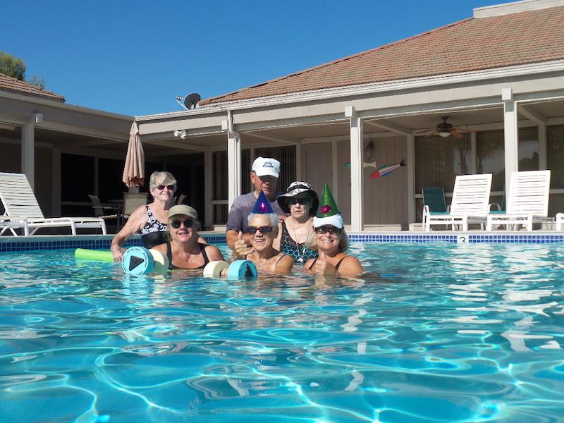 Swinning Pool (group photo)