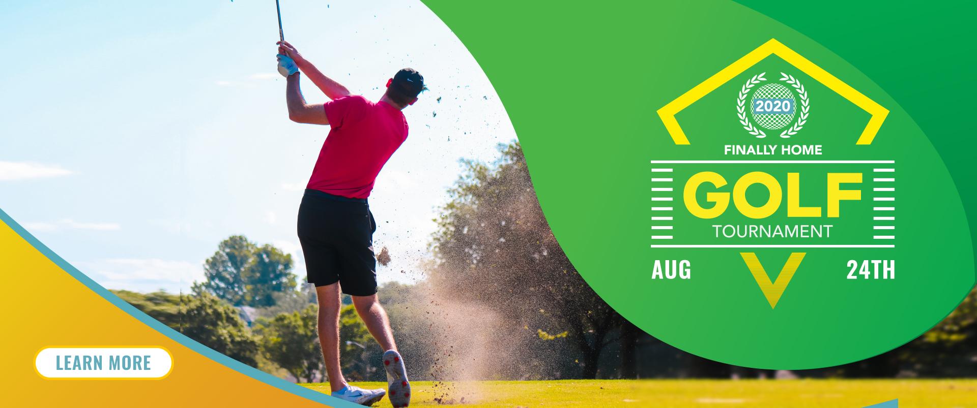 Finally Home Golf Tournament