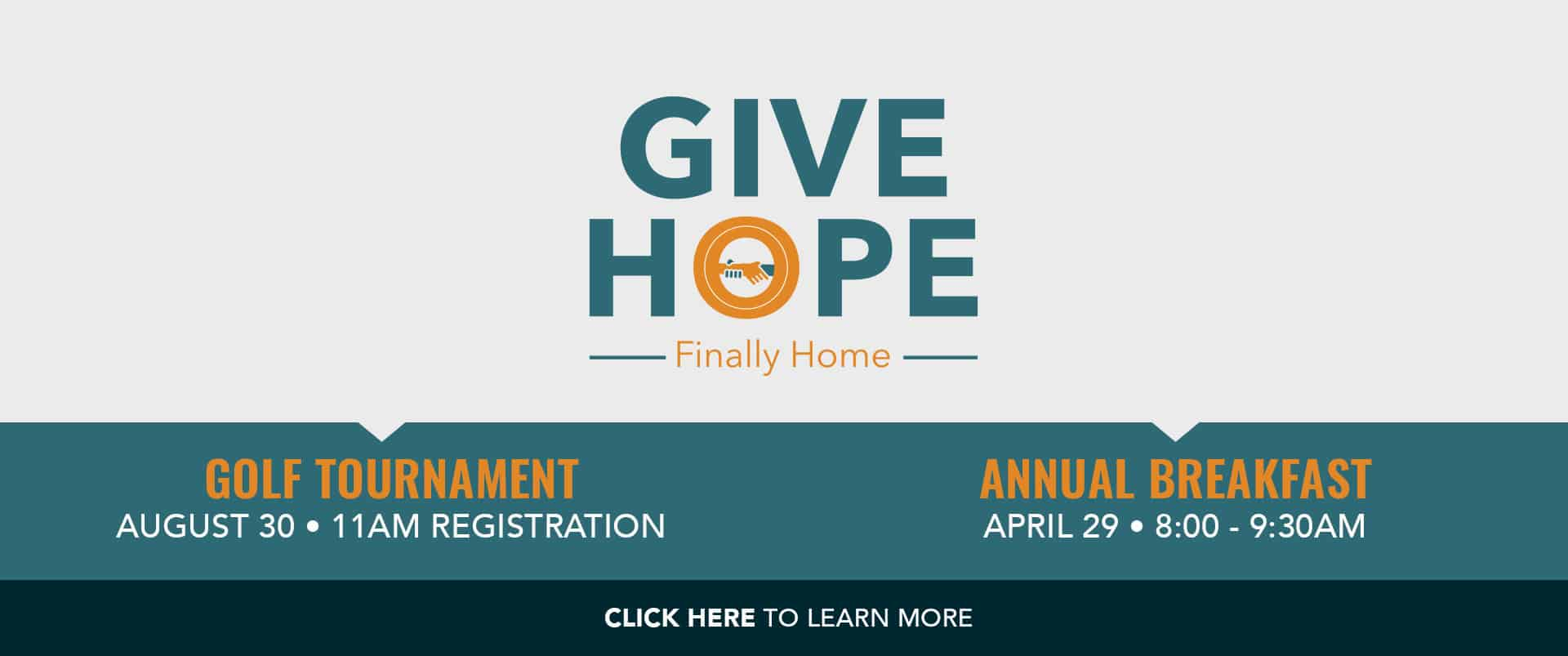 GIVE HOPE EVENTS