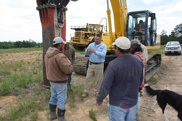 New Excavator Training