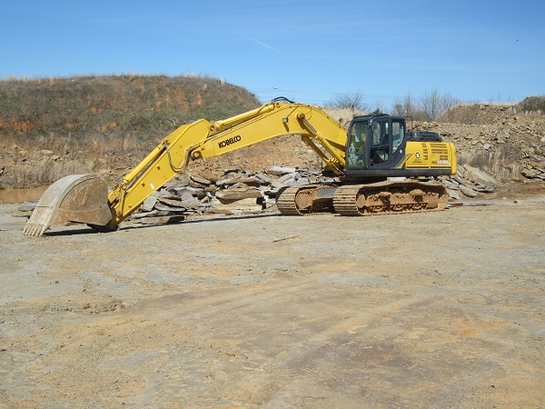 One of our Excavators