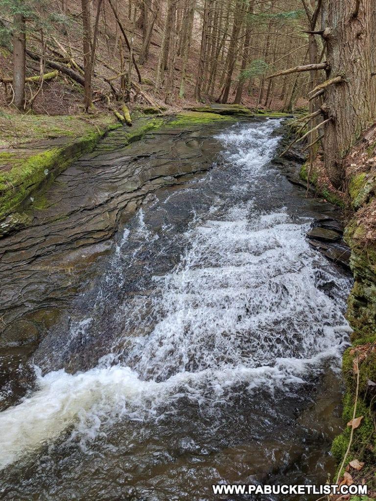Cascade on Babb Creek in Tioga County PA