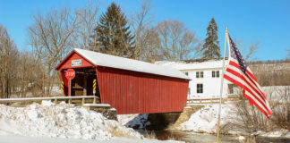Logan Mills Covered Bridge in central PA