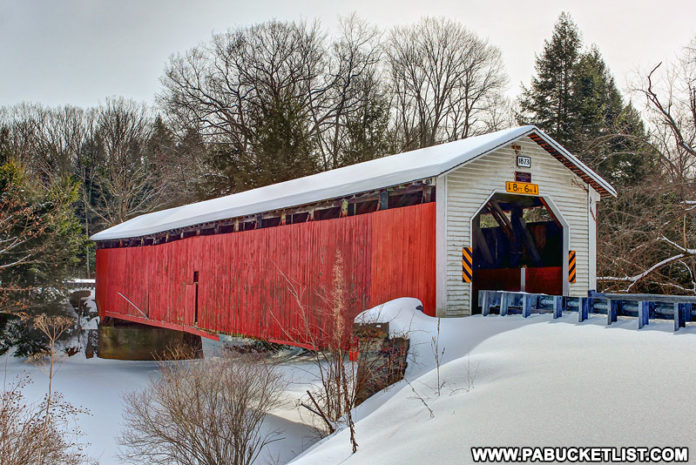 McGees Mills Covered Bridge Clearfield County Pennsylvania
