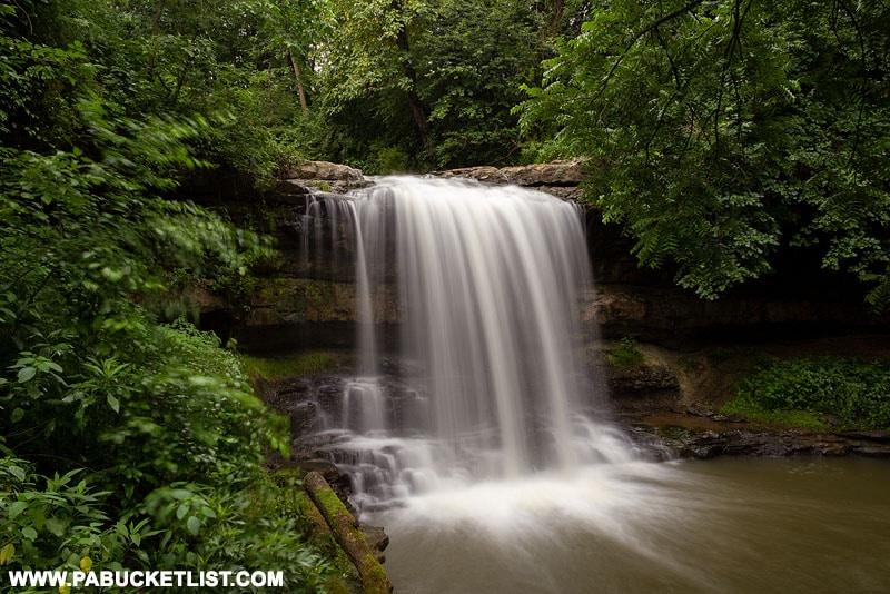 Robinson Falls in Connellsville Pennsylvania