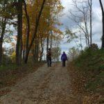 Natural trail hikes