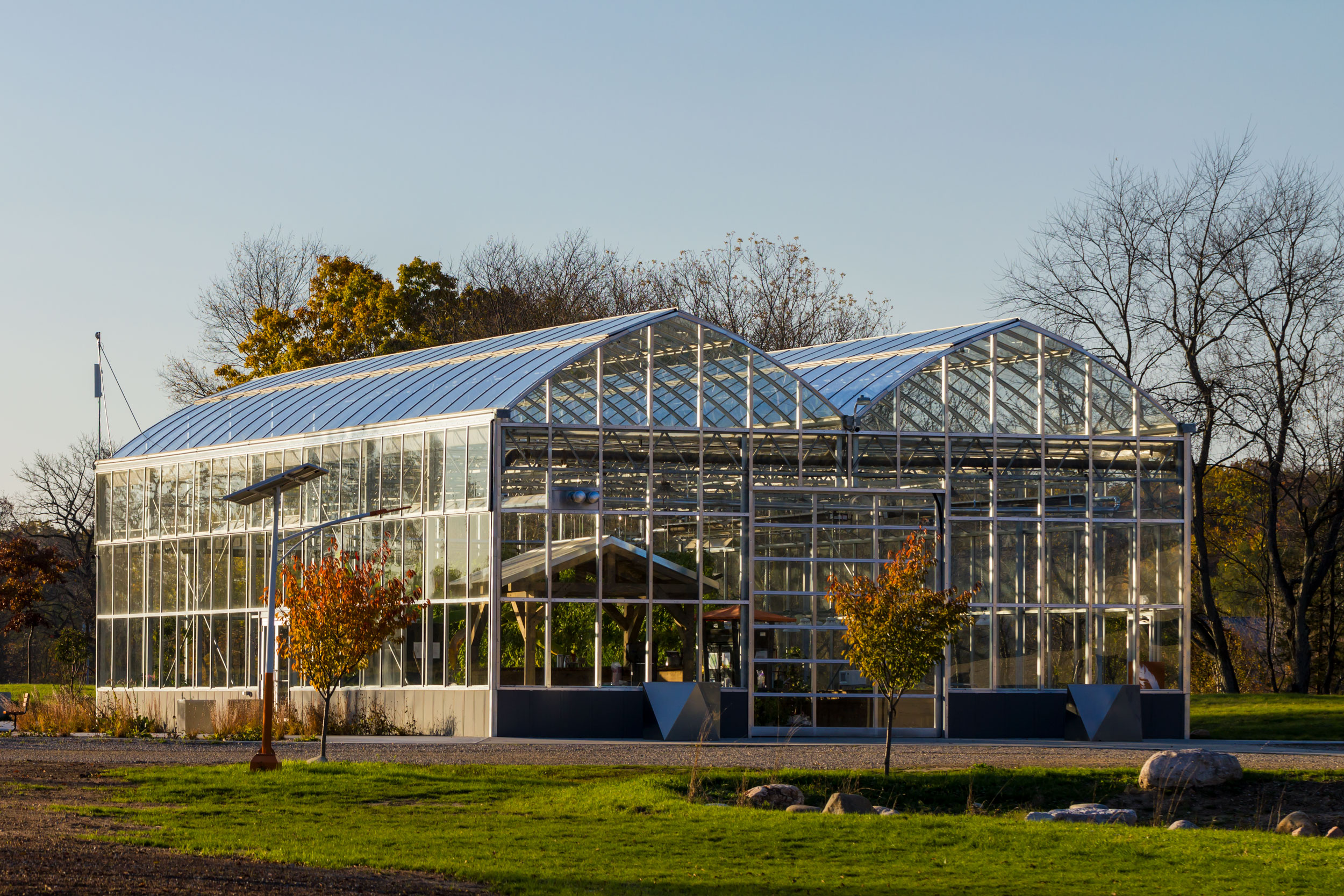 Greenhouse at Robin Hills Farm