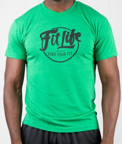 Ultra-soft, Ultra-comfy Fit Life T-shirt In Green