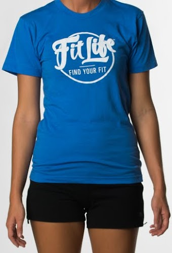 An Ultra-soft, Ultra-comfy Fit Life T-shirt In Blue