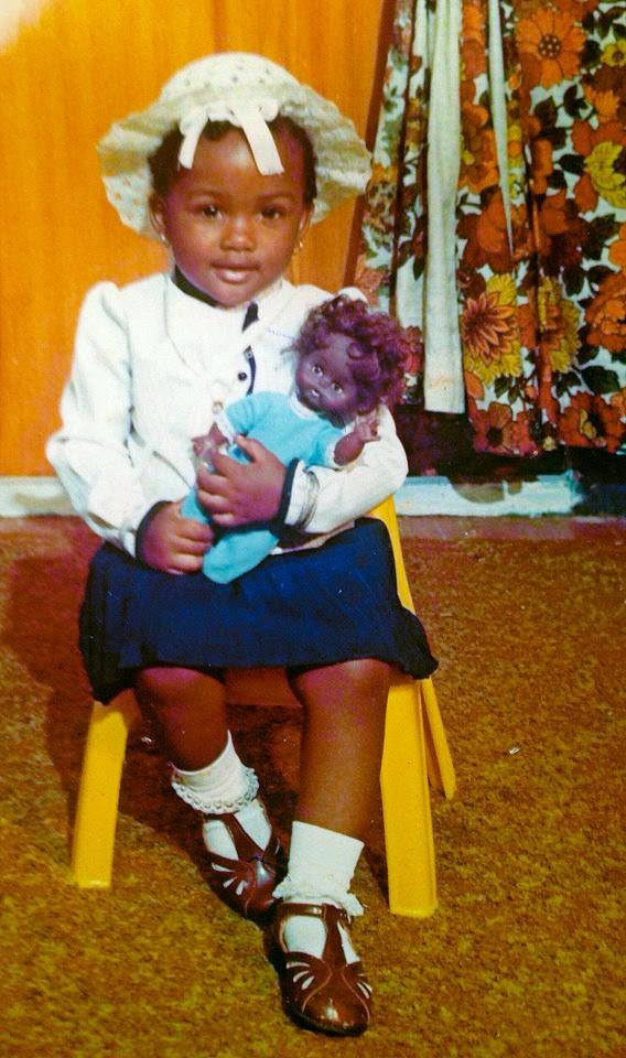 Arlyne Simon at 2 years old