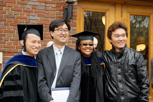 Arlyne Simon graduation day at the University of Michigan in May of 2014