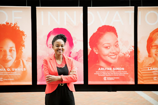 Arlyne Simon returned to the USPTO headquarters in March of 2017 National Inventors Hall of Fame