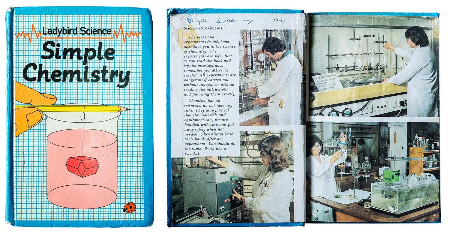 """Arlyne Simon's passion for science was first ignited by her mother, who gave her John Paull and Dorothy Paull's book """"Simple Chemistry"""" from the """"Ladybird Science"""" series (Random House, 1982)"""