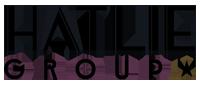 small black Hatlie Group logo