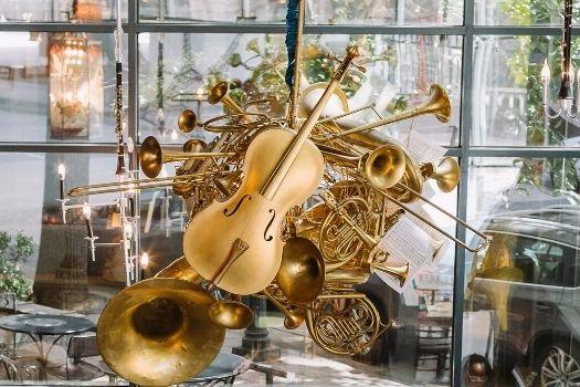 Musical Instruments Chandelier - Amélie's