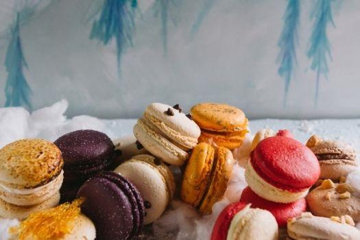 French Macarons - Winter Menu