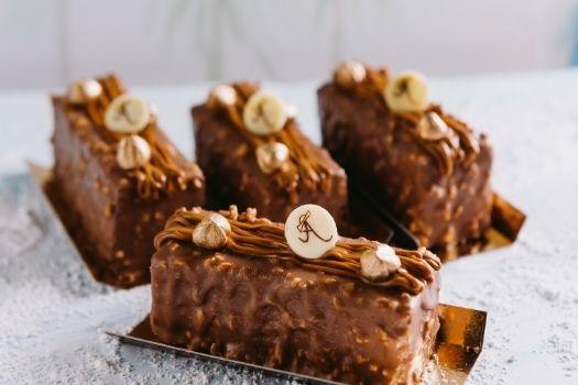 Hazelnut Crêpe Layered Torte - Winter Menu