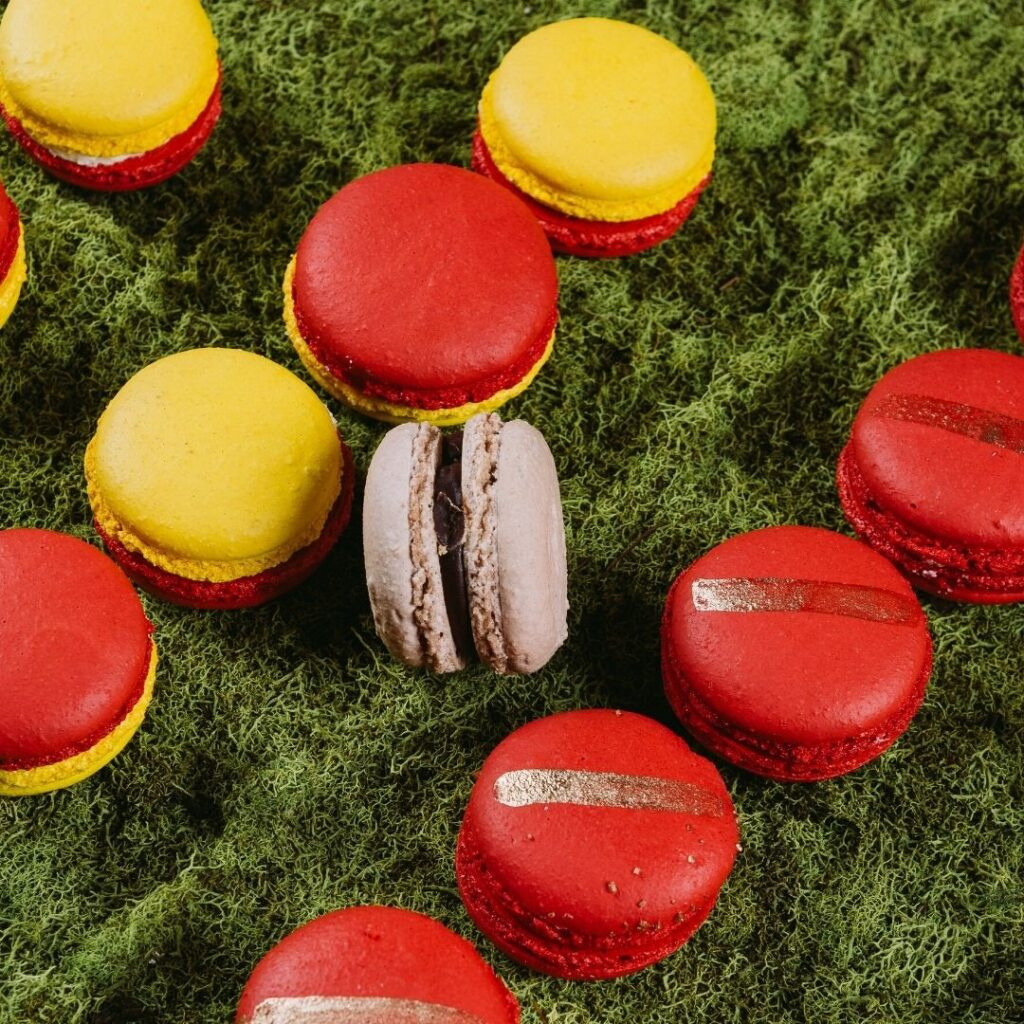 Super Bowl French Macarons