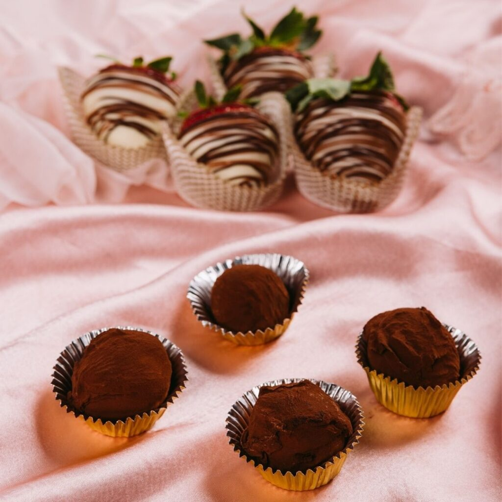 Cooking Class - Chocolate-dipped Strawberries & Truffles.