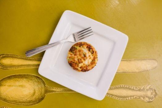 Crustless Quiche - new menu item