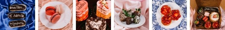 """Valentine""""s Day pastry offerings"""
