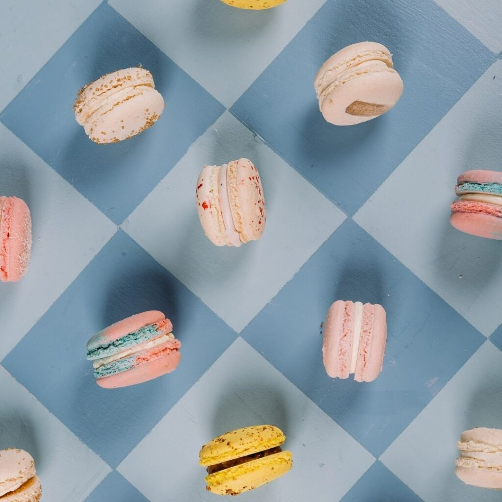 Spring French Macaron Flavors