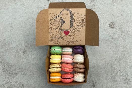Box of Love - a dozen French Macarons