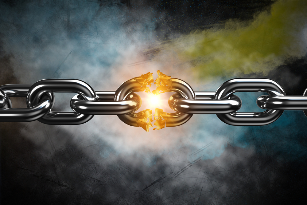 To illustrate link building with an image of a chain