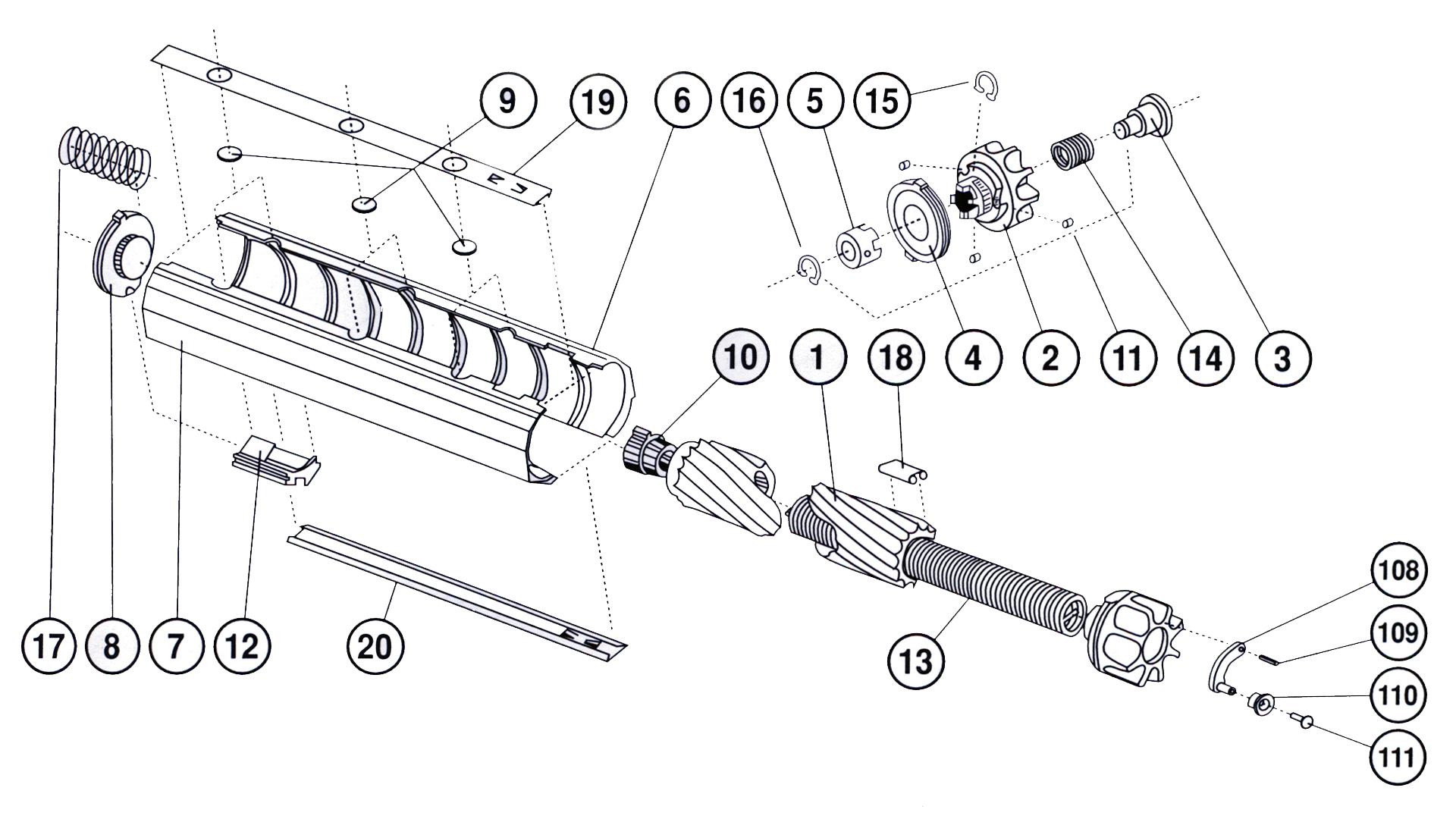 22LR Magazine Parts Breakdown