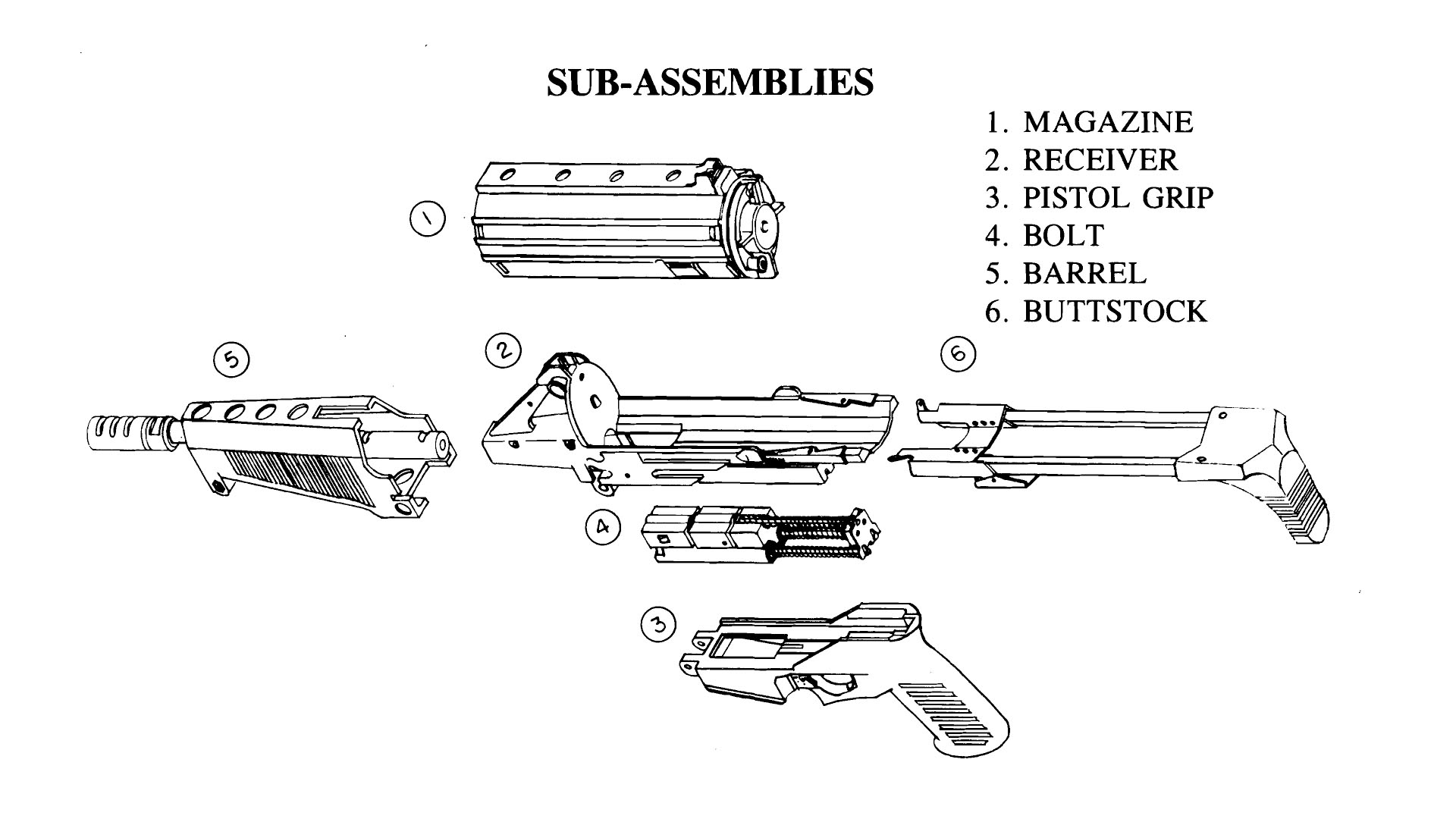 M-806 Sub Assembly