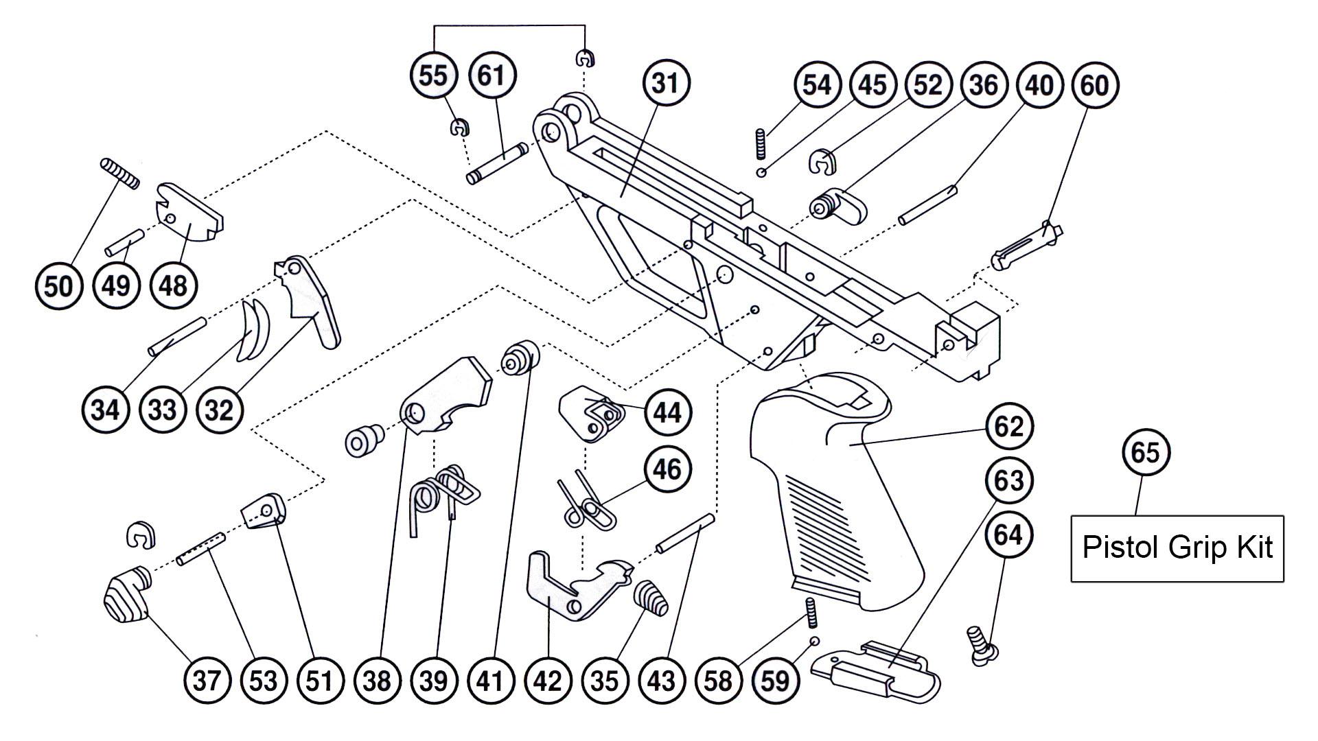 M-100 Lower Receiver Parts Breakdown