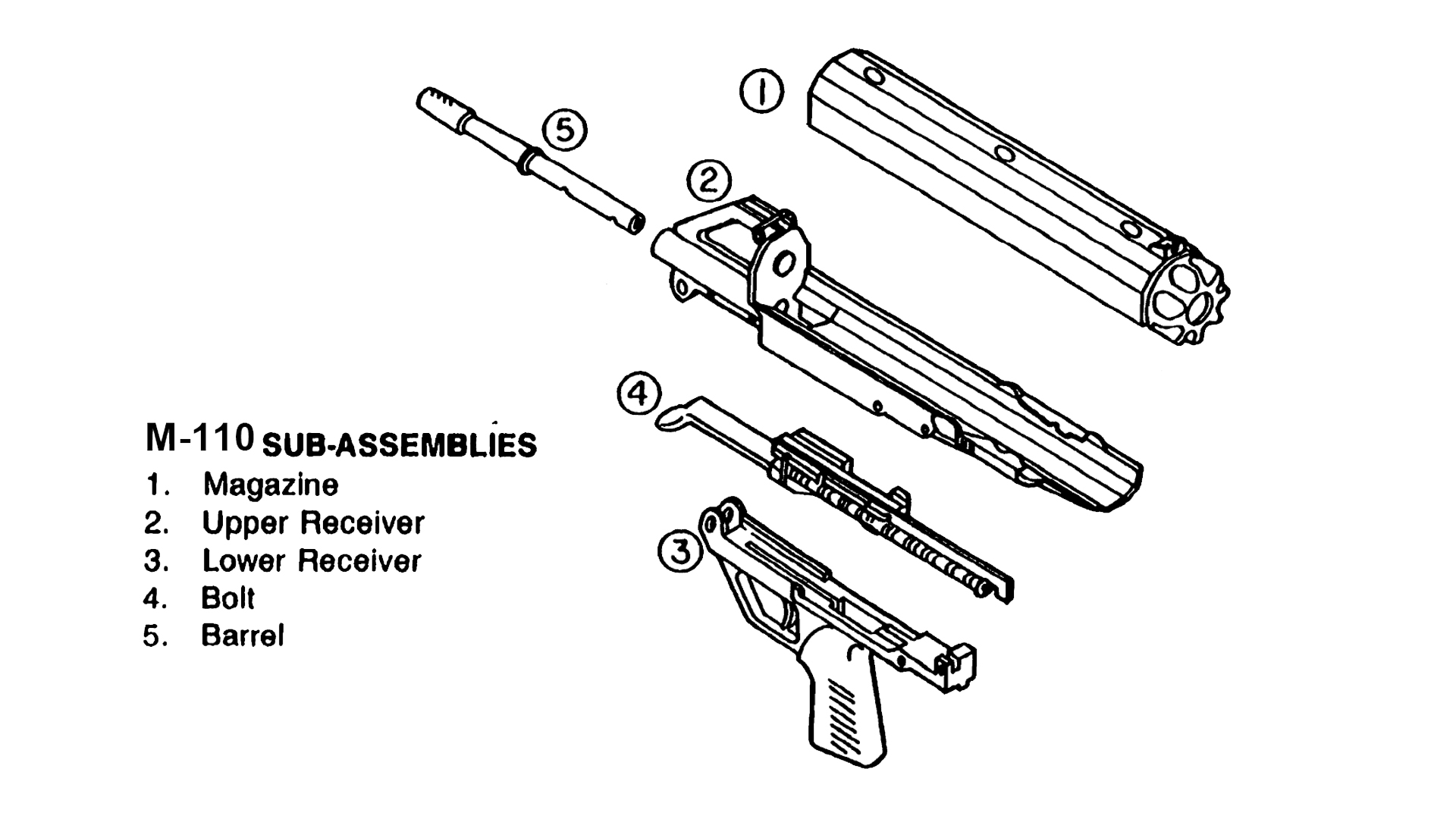M-110 Sub Assembly