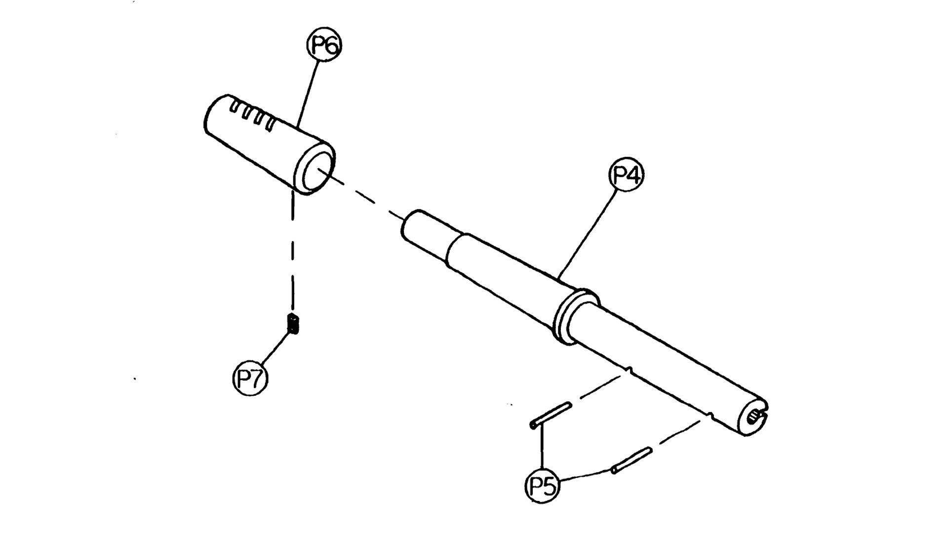 M-110 Pistol Barrel Breakdown