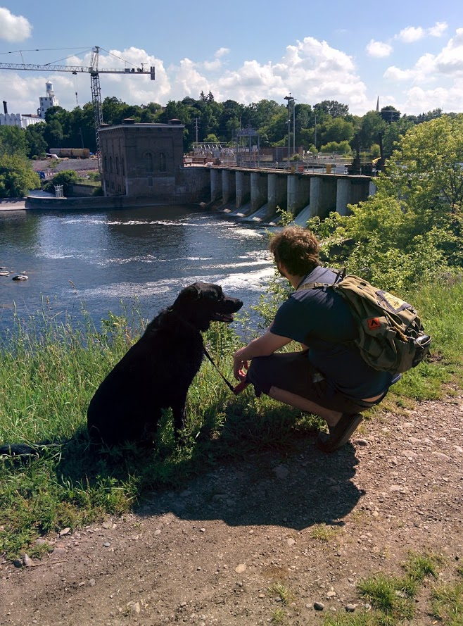 Dog walker/Peterborough trails/ love the kawarthas/ happy dog walks/ peaceful trail walks