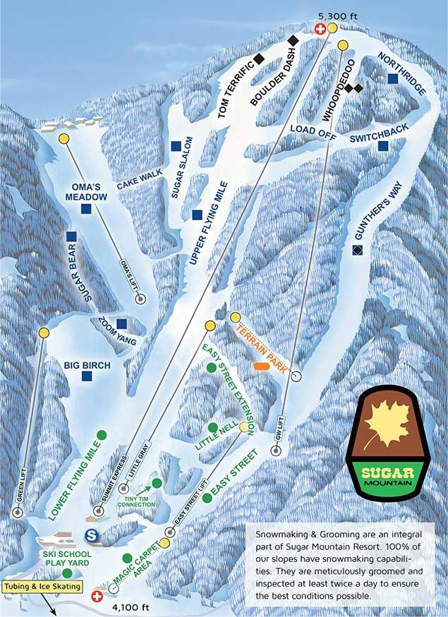 Sugar Mountain's Summit Express