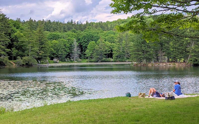Bass Lake, Moses Cone Park