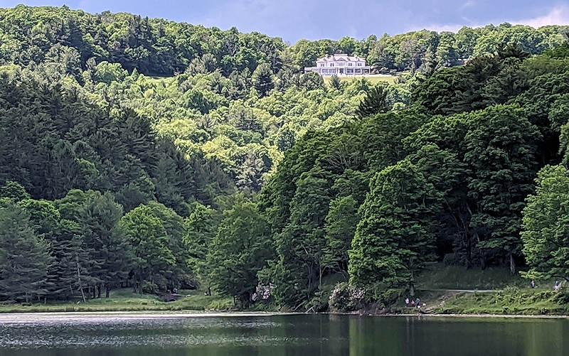 Moses Cone Park Bass Lake
